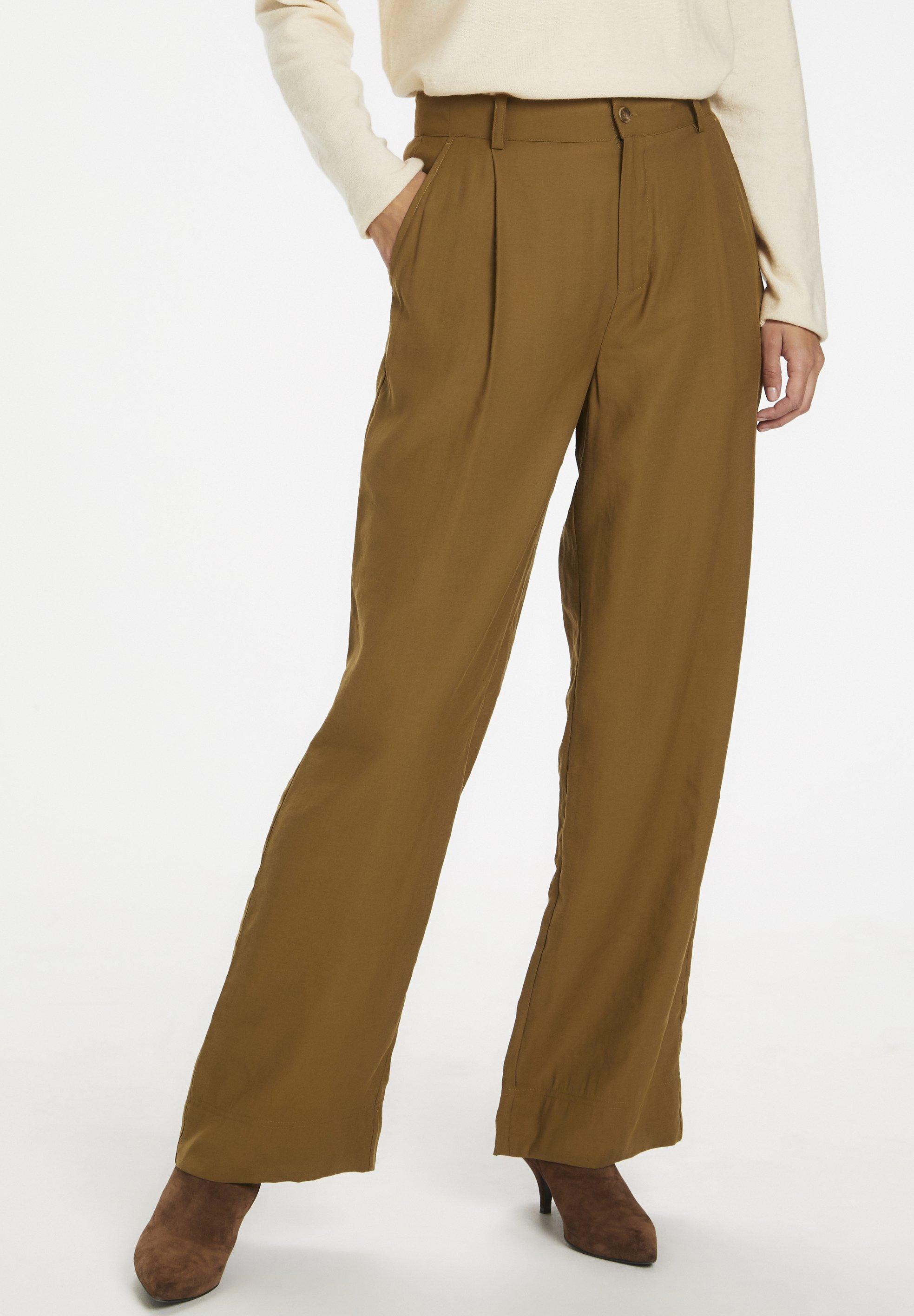Part Two BELMASPW  - Spodnie materiałowe - butternut