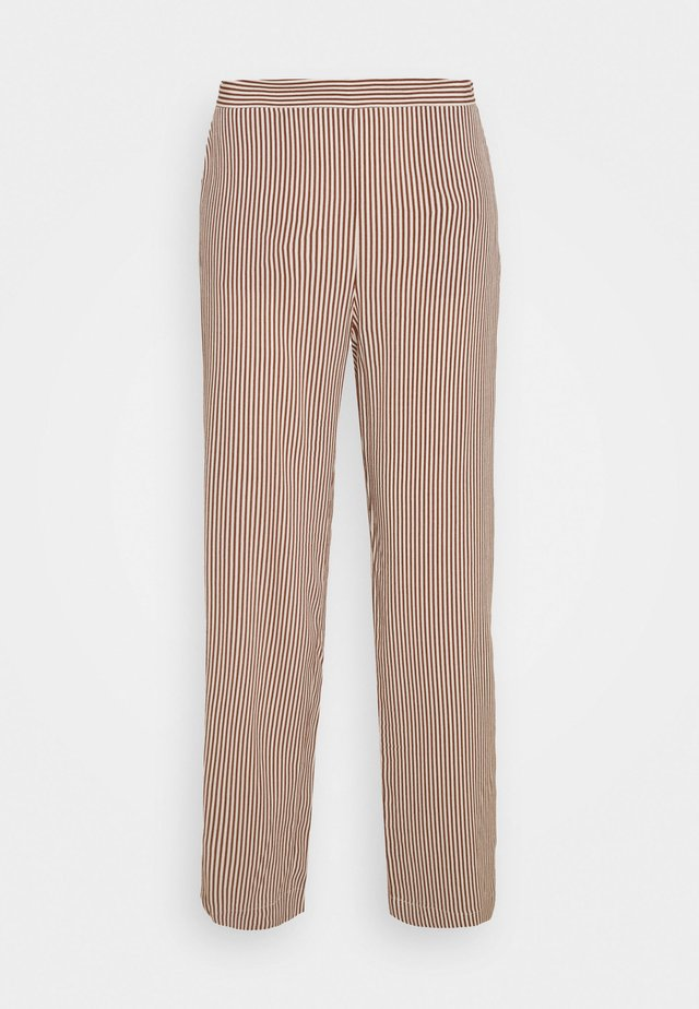 MILLE - Stoffhose - brown