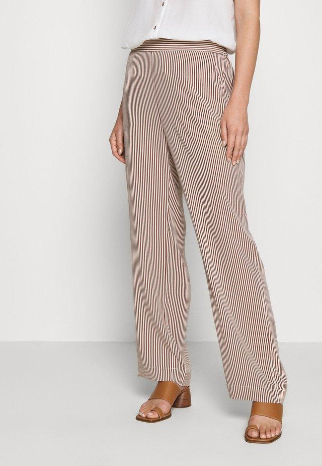 MILLE - Pantalon classique - brown