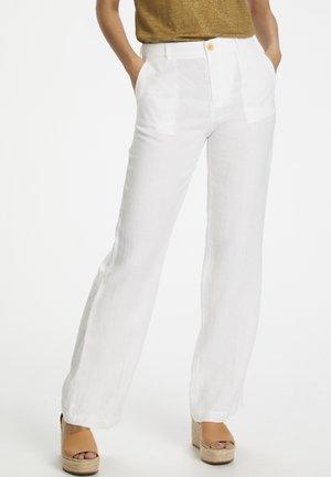BEGITTAPW - Trousers - bright white