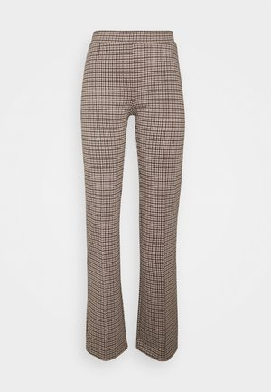 PONTAS - Trousers - brown
