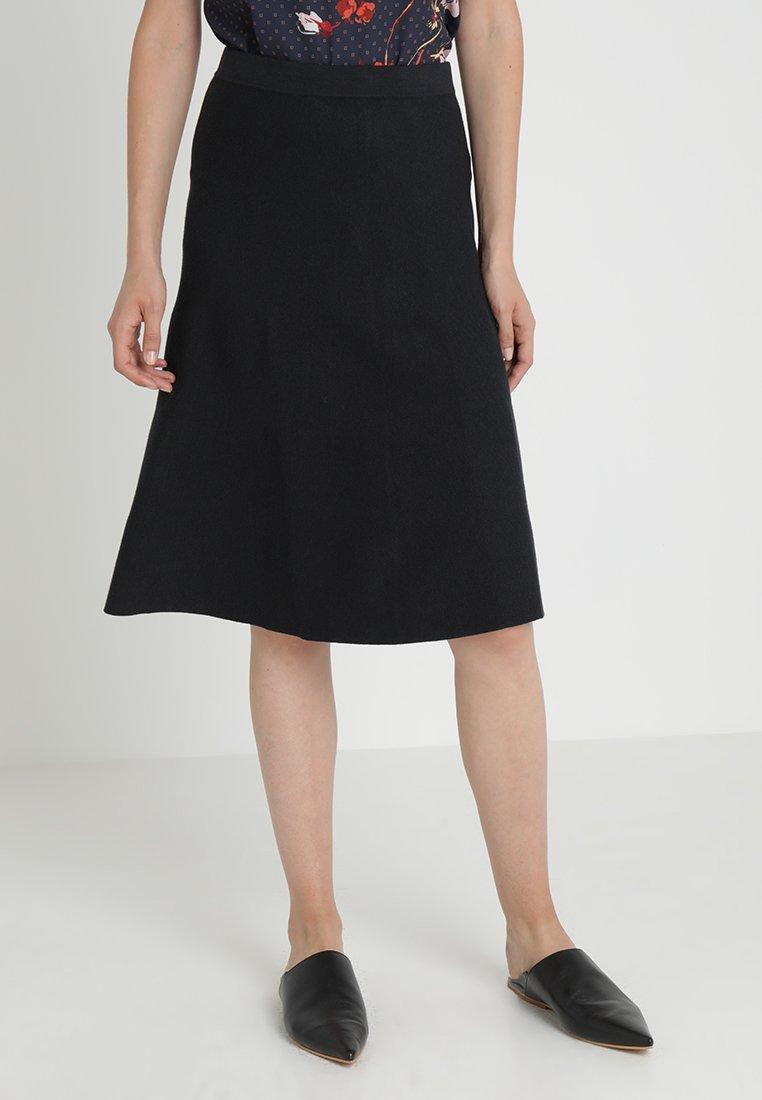 Part Two - MATTY - A-line skirt - dark navy