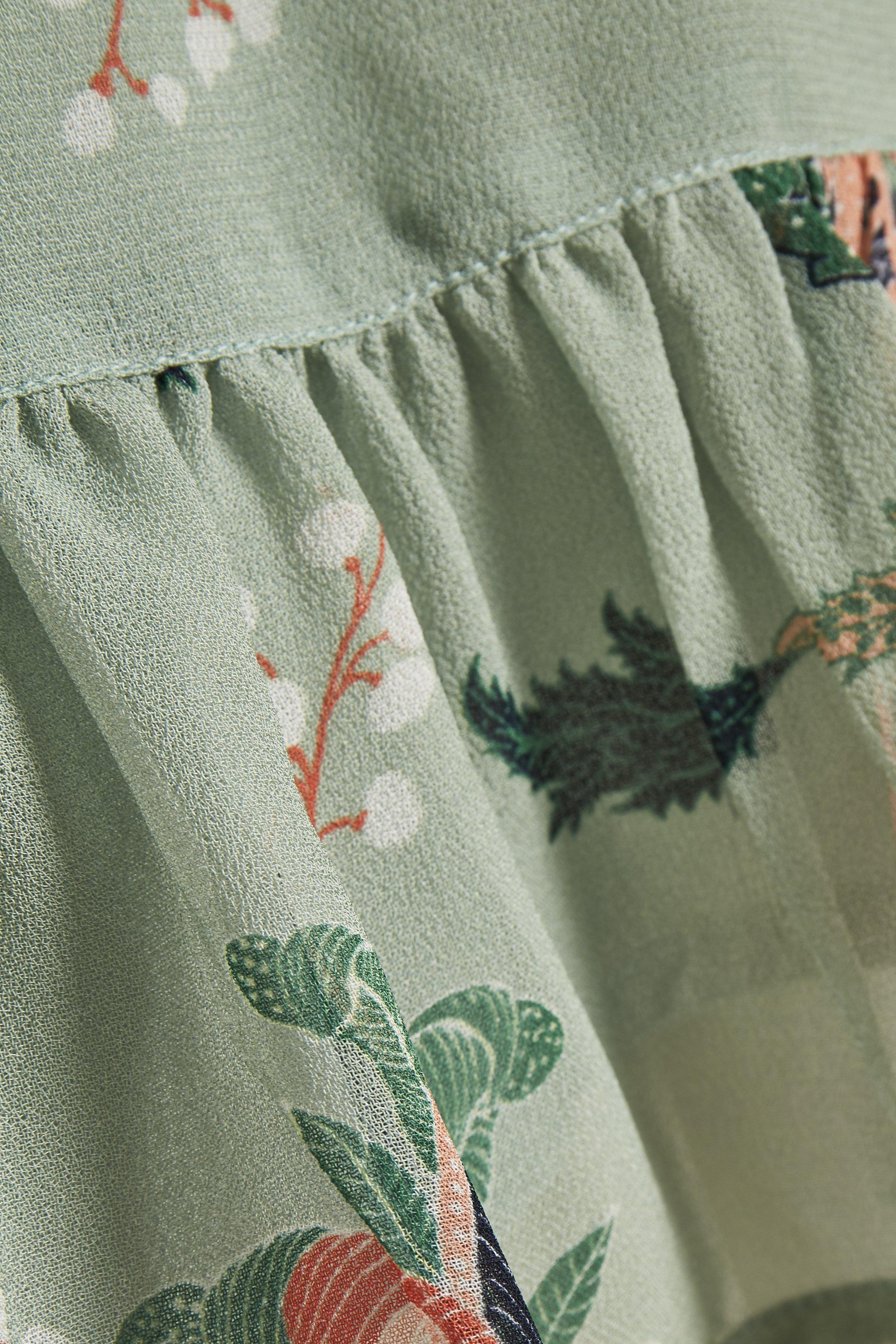 Part Two PILAR - Spódnica trapezowa - light green
