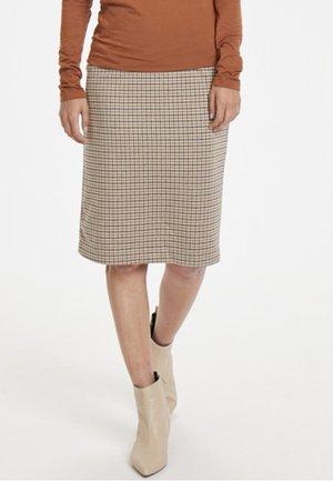 TAMIKA  - Spódnica ołówkowa  - brown