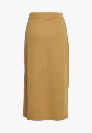CARLOTTA - Pencil skirt - antique bronze