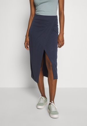 CARLOTTA - Pencil skirt - blue graphite