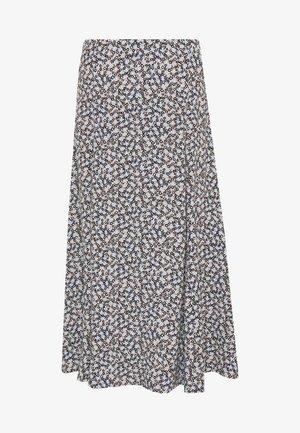 DILANI - A-line skirt - blue