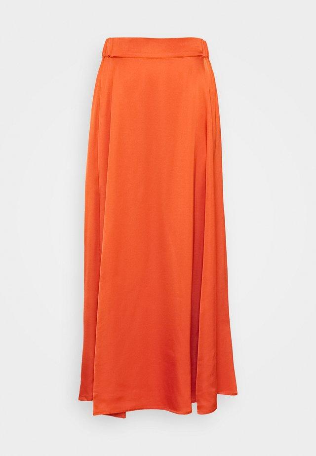 DAISI - Áčková sukně - orange sunset