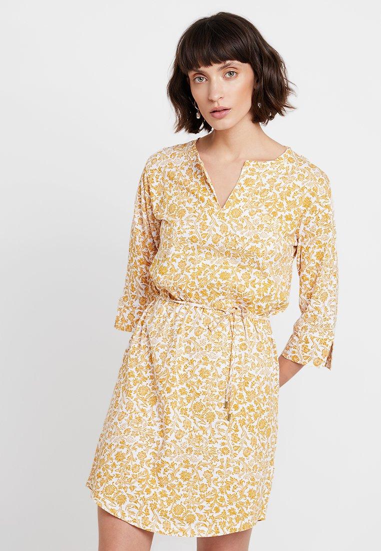Part Two - KABELLA - Jersey dress - yellow