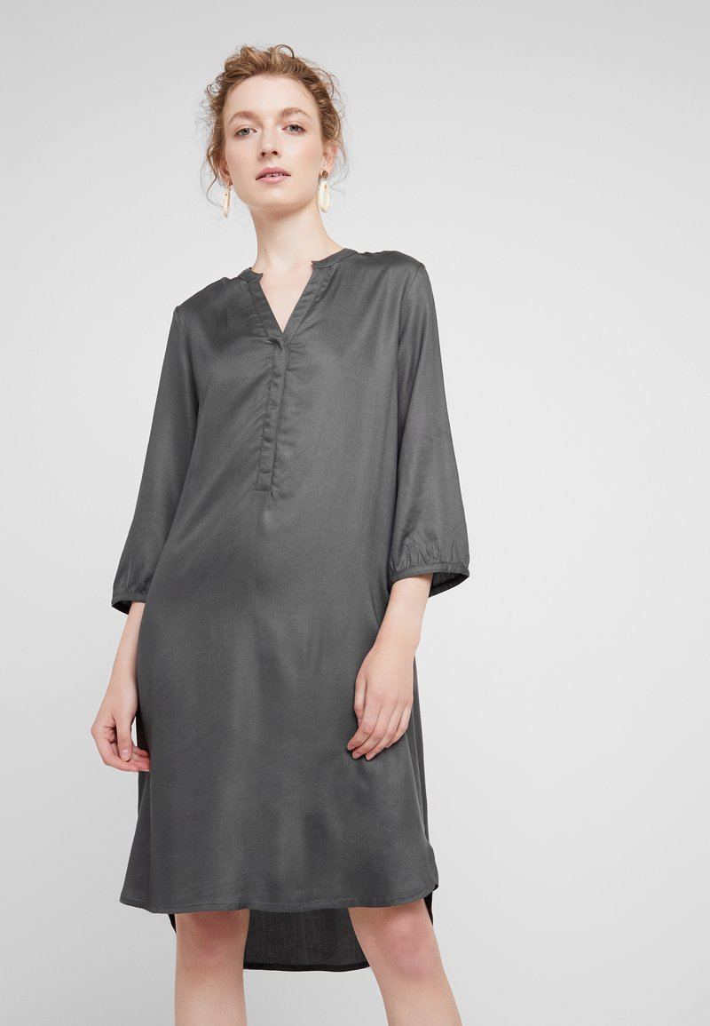 Part Two - CALLA - Shirt dress - gray