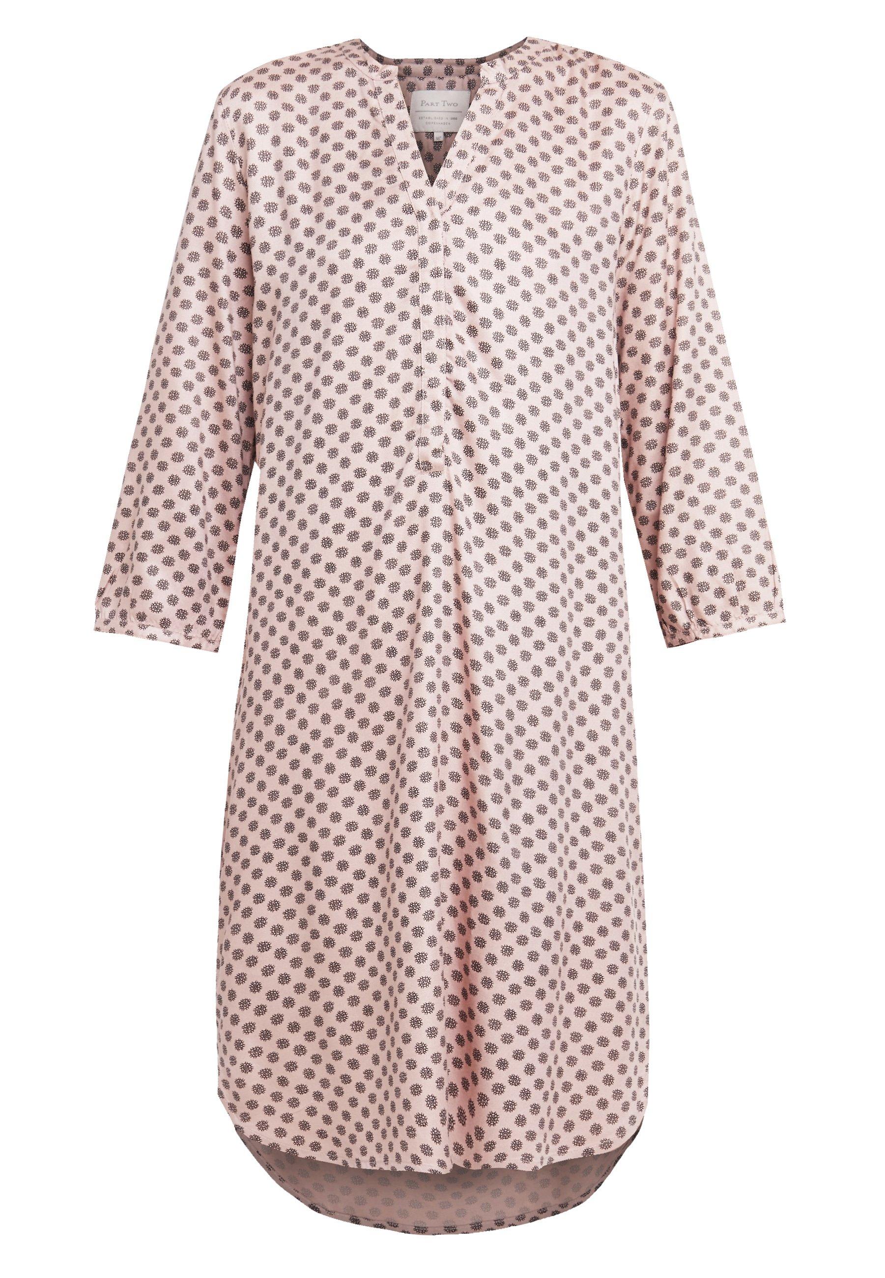 Part Two Calla - Skjortklänning Rose