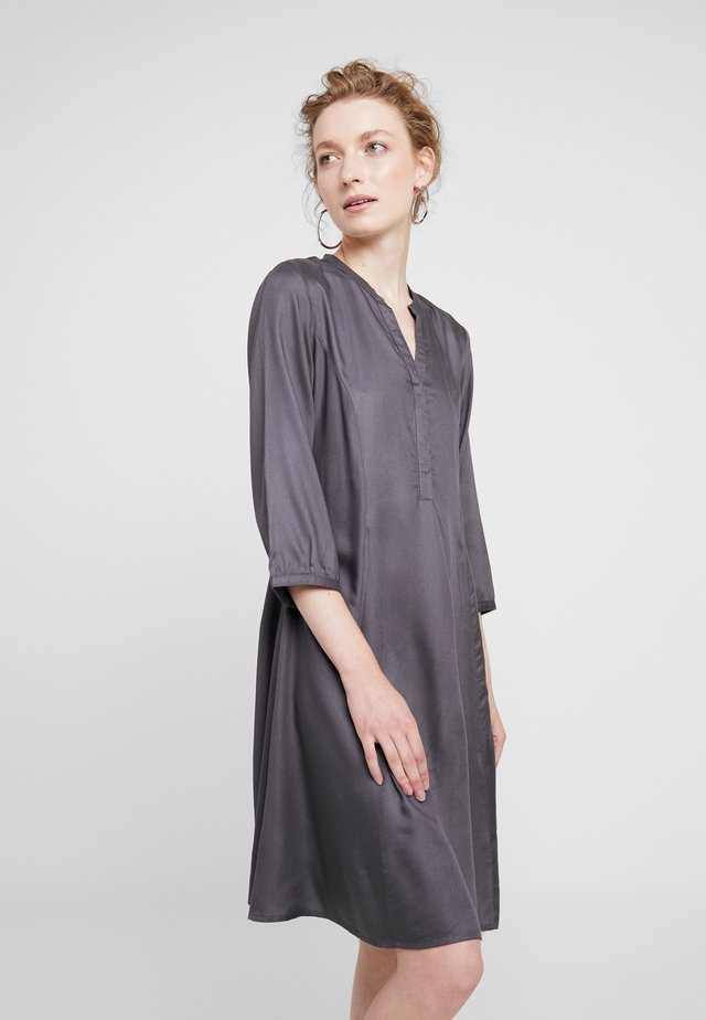 LINAJA - Shirt dress - dark grey