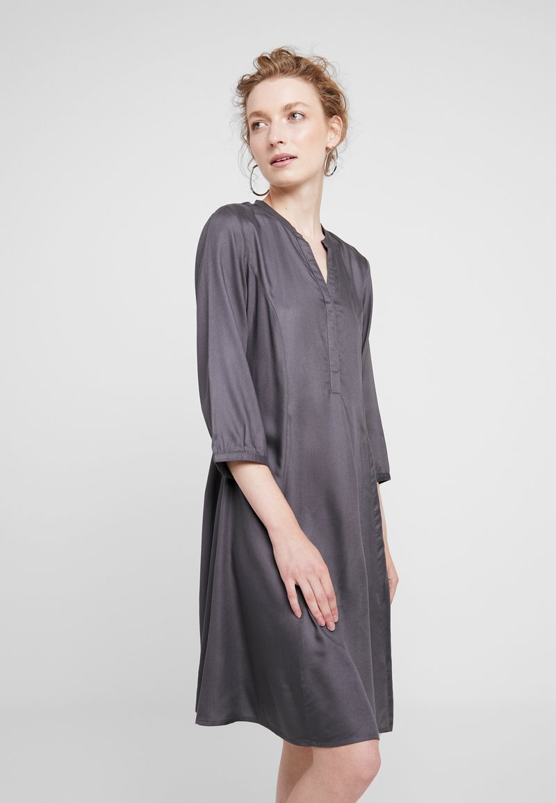 Part Two - LINAJA - Shirt dress - dark grey