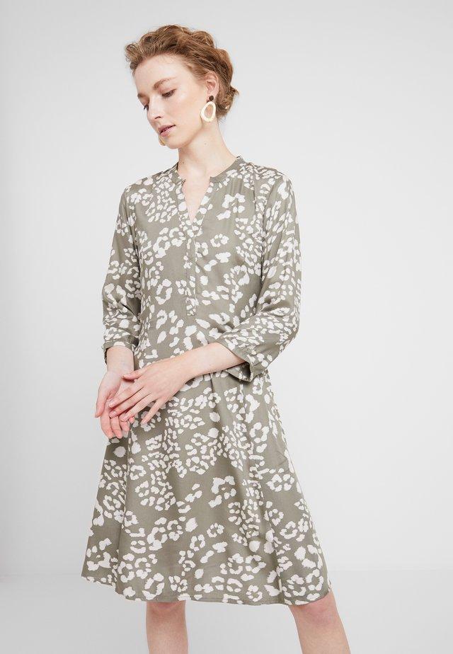LINAJA - Shirt dress - vetiver