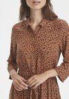 Part Two - TENNA DR - Shirt dress - brown