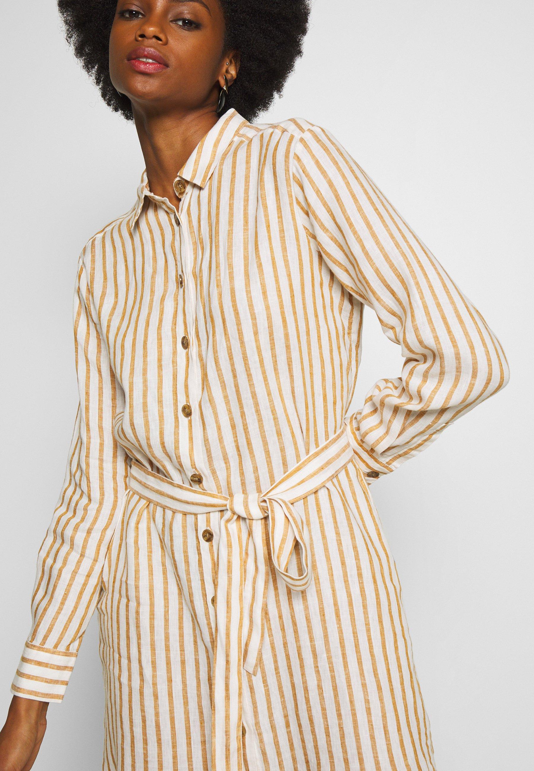 Part Two Bondie - Skjortklänning Light Brown