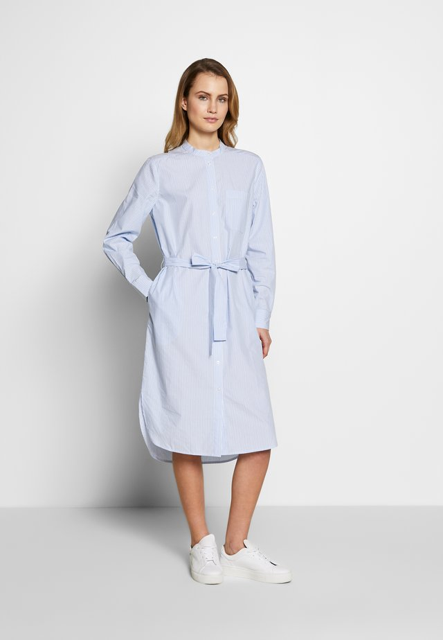 LULU DRESS - Shirt dress - chambrey blue
