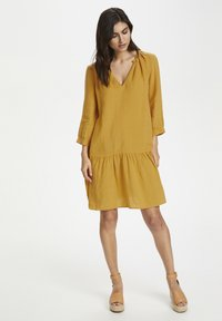 Part Two - Day dress - golden spice - 1