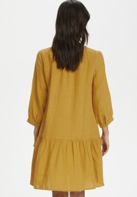 Part Two - Day dress - golden spice - 2