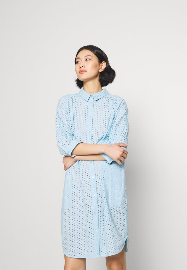 RIVASPW  - Shirt dress - light blue