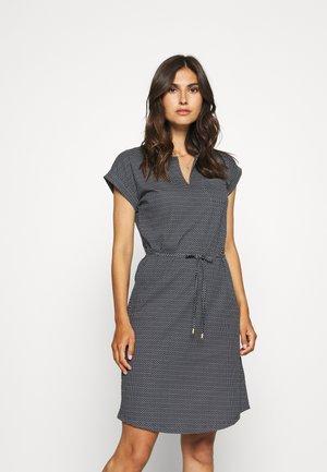 MABEL - Žerzejové šaty - navy