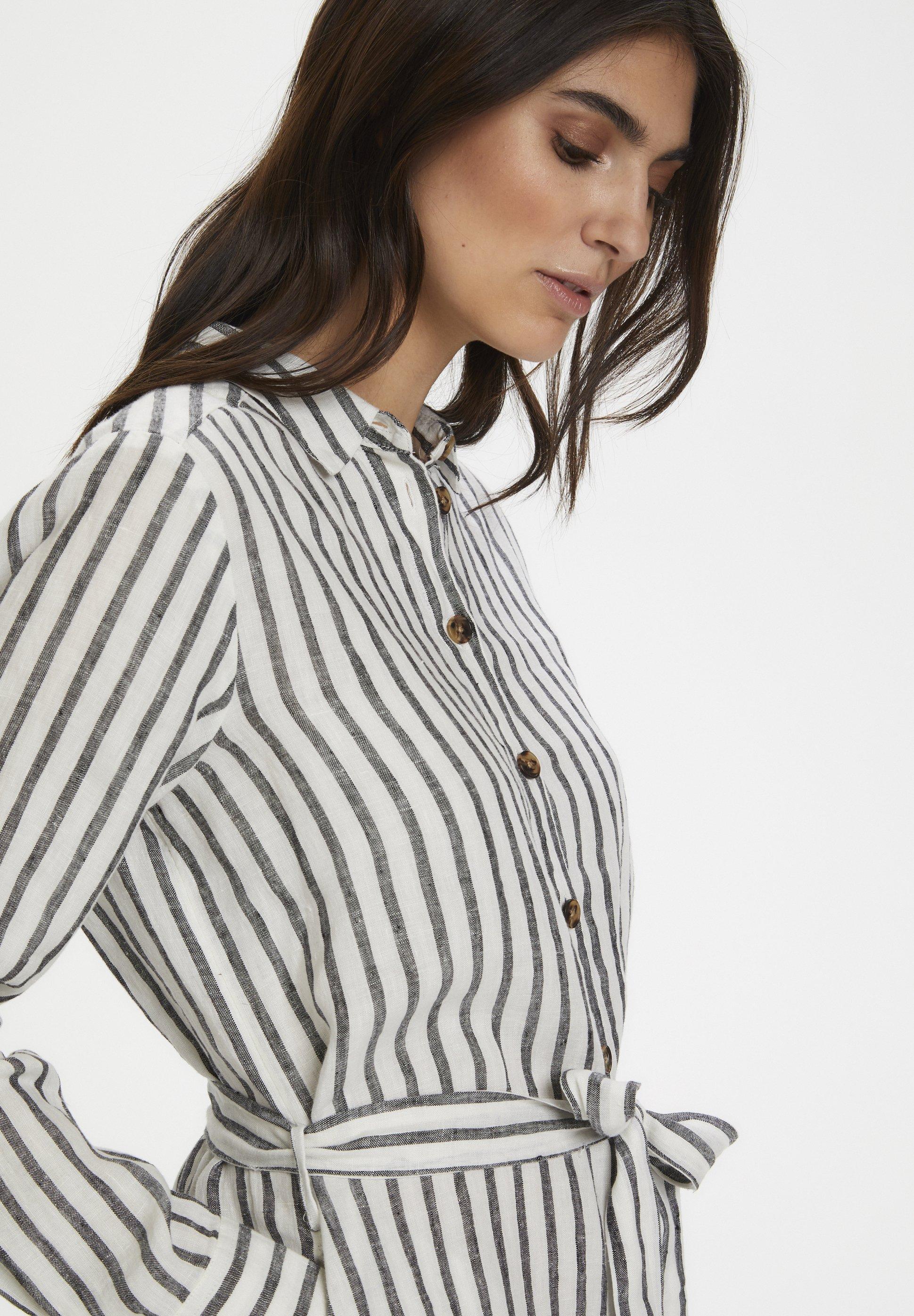 Part Two Bondiepw - Skjortklänning Black