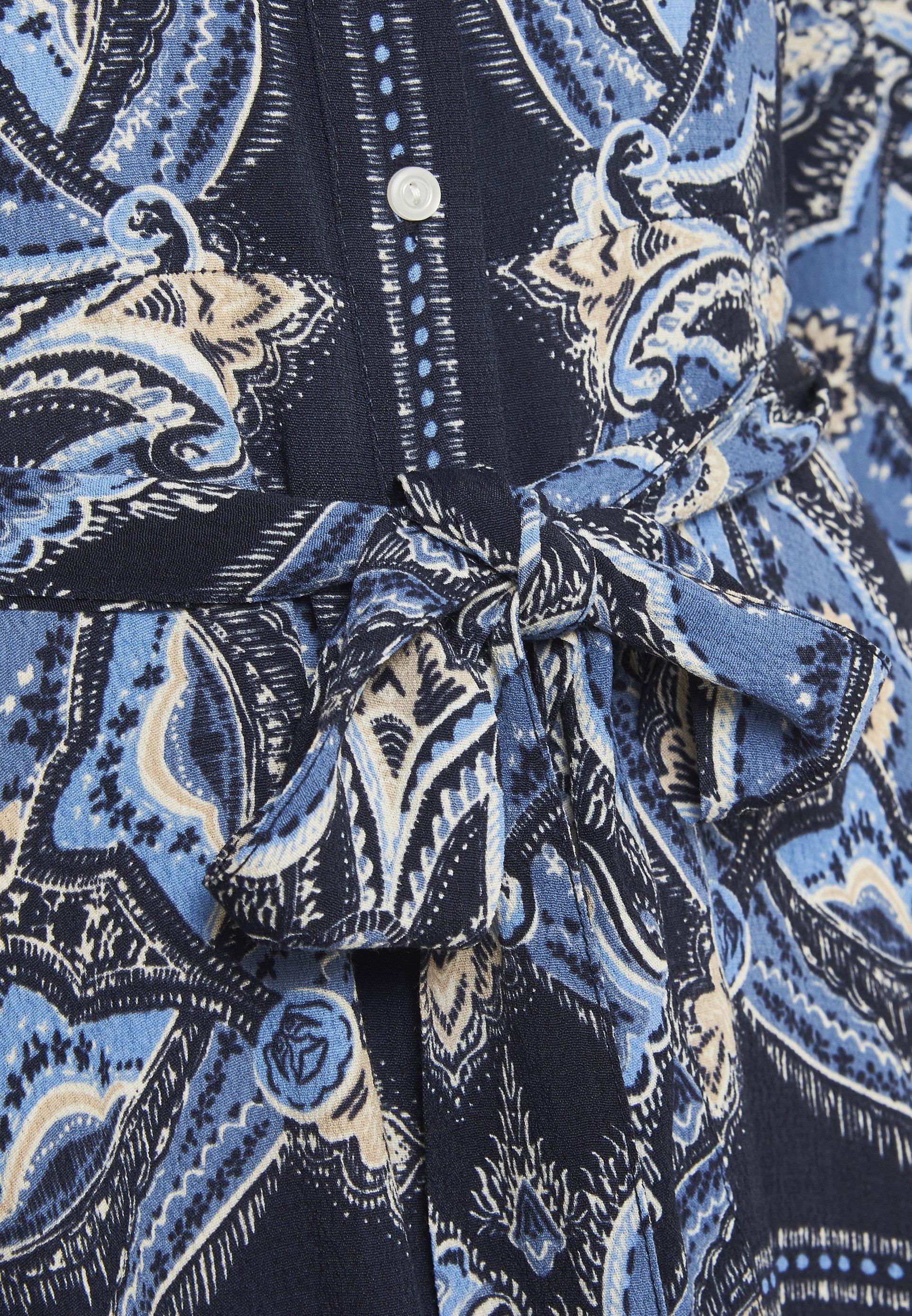 Part Two Binapw - Skjortklänning Dark Navy.