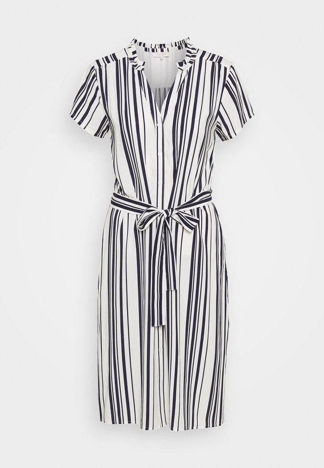 DOREEN - Day dress - off white/navy