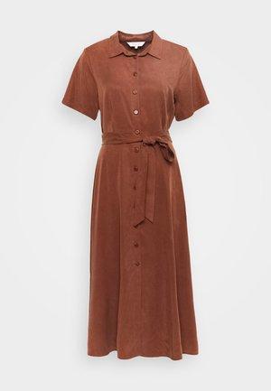DILAY - Košilové šaty - chocolate glaze