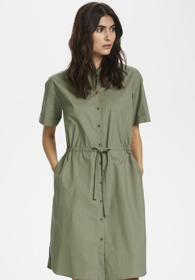 BENNAPW - Shirt dress - vetiver
