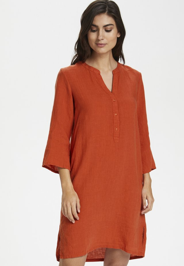 RIVIERAPW DR - Day dress - chili