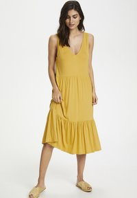 Part Two - CANAPW DR - Jersey dress - golden spice - 1