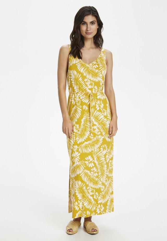 RHONDA - Maxi-jurk - golden spice