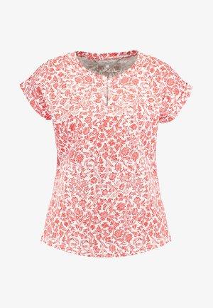 KEDITA - Print T-shirt - porcelain/red
