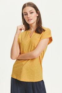 Part Two - KEDITA  - Basic T-shirt -  dark yellow - 0