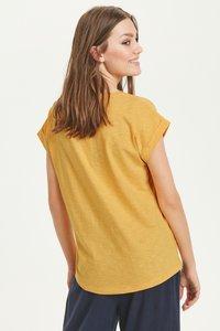 Part Two - KEDITA  - Basic T-shirt -  dark yellow - 2