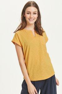 Part Two - KEDITA  - Basic T-shirt -  dark yellow - 4
