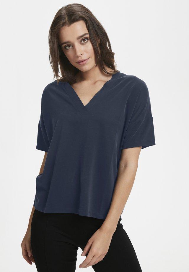 TIA TS - Basic T-shirt - dark navy