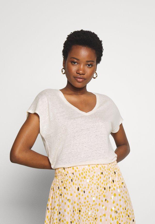 CHAMIEPW - T-shirt basic - offwhite