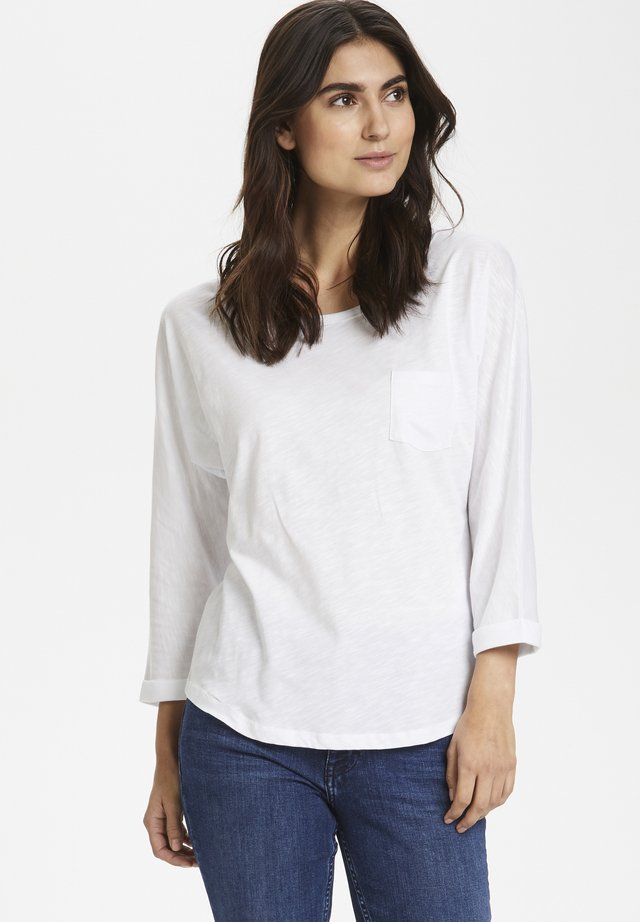 BIRTEPW - Long sleeved top - bright white