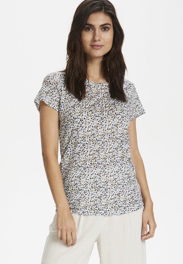 KASSIMPW  - Print T-shirt -  blue