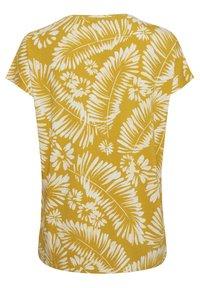 Part Two - Print T-shirt - palm/golden spice - 7