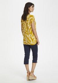 Part Two - Print T-shirt - palm/golden spice - 3