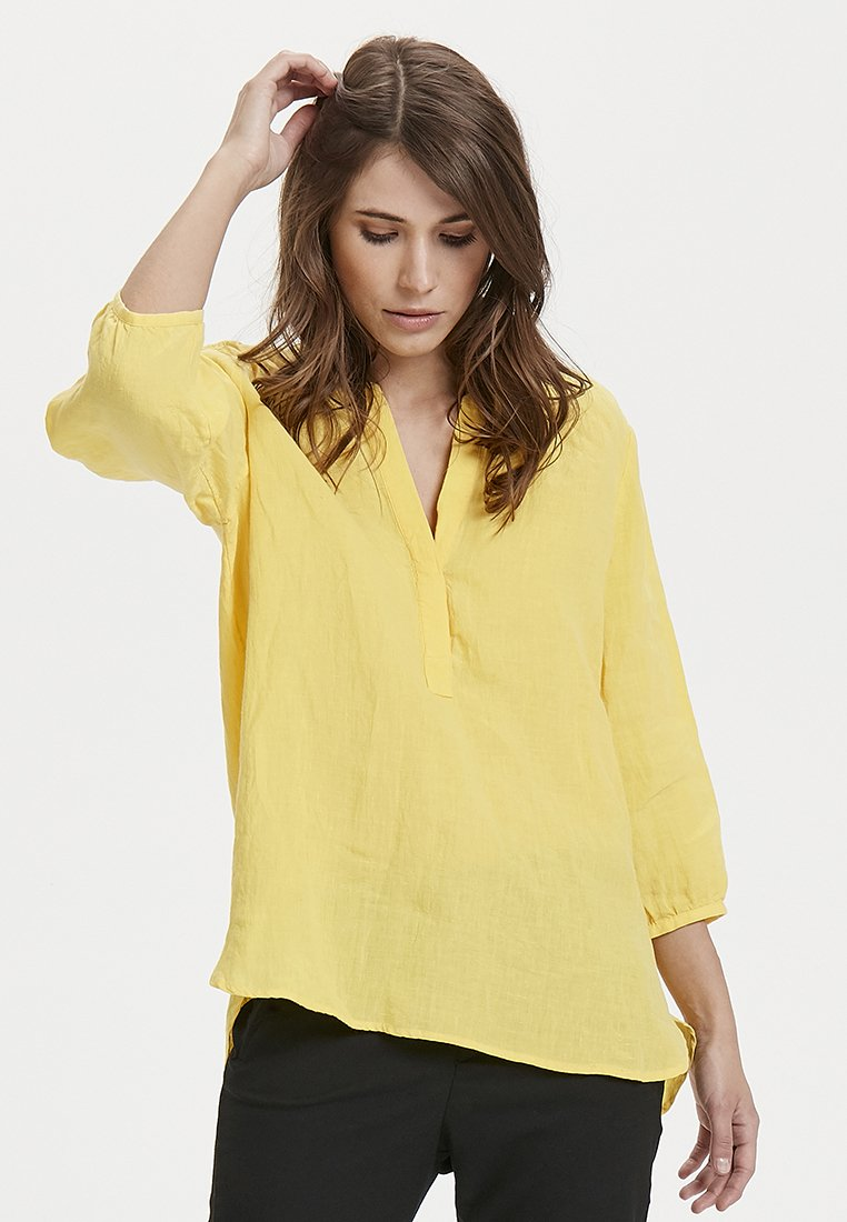 Part Two - LYDIA  - Tunic - yellow