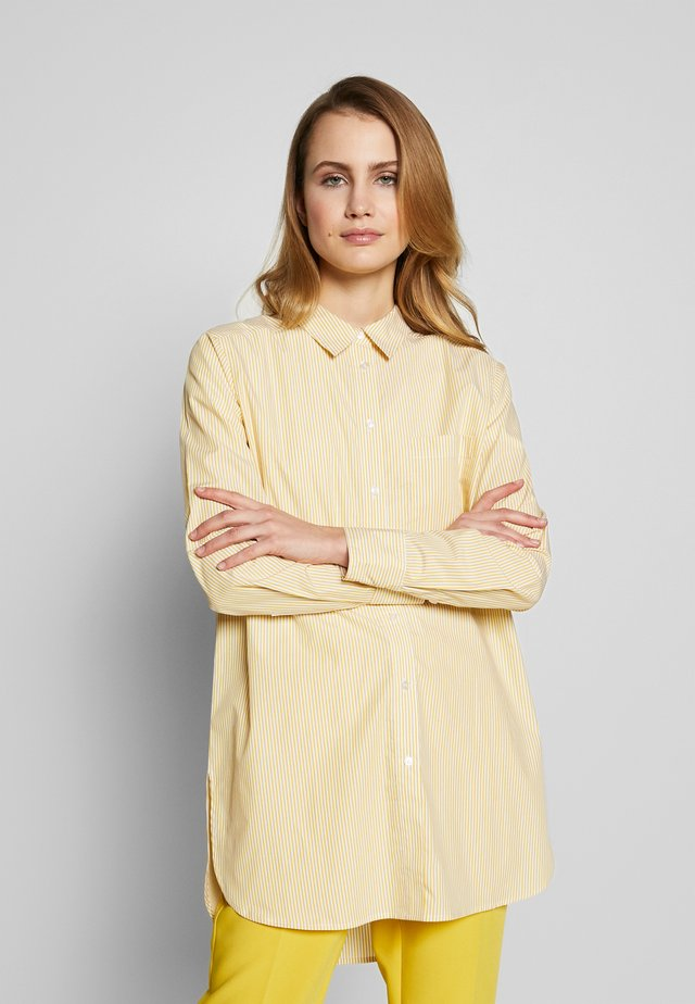 LULAS - Button-down blouse - ceylon yellow