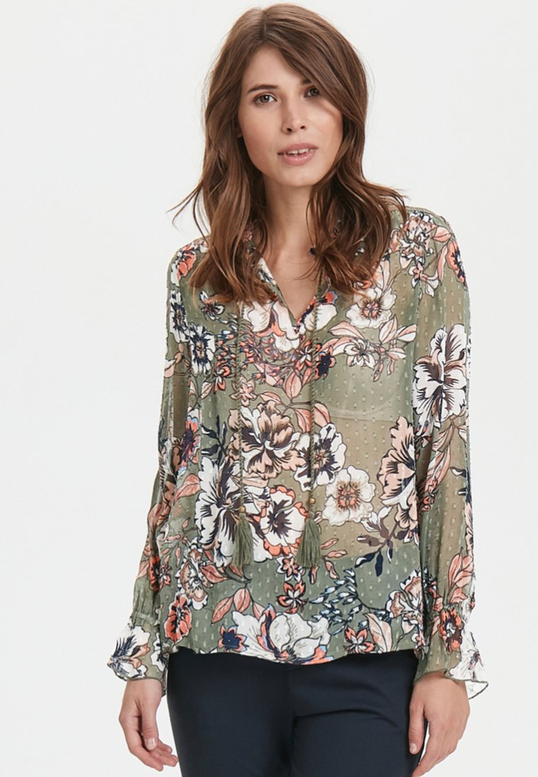 Part Two - Blouse - dark green