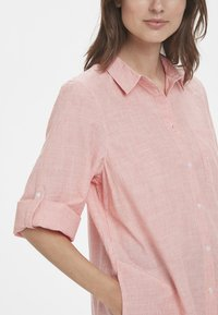 Part Two - RIVA  - Button-down blouse - red - 3