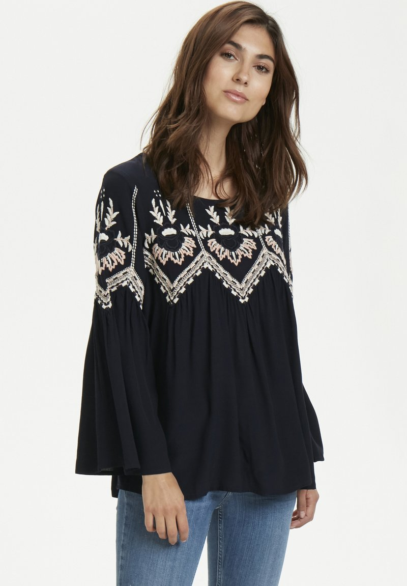 Part Two - TORUN BL - Blouse - dark navy