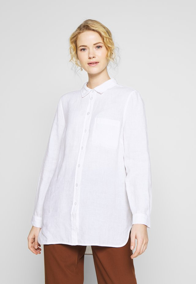 KIVA - Button-down blouse - bright white
