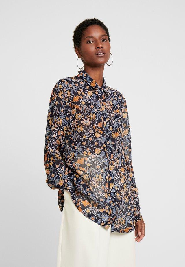 ABIA - Button-down blouse - dark navy